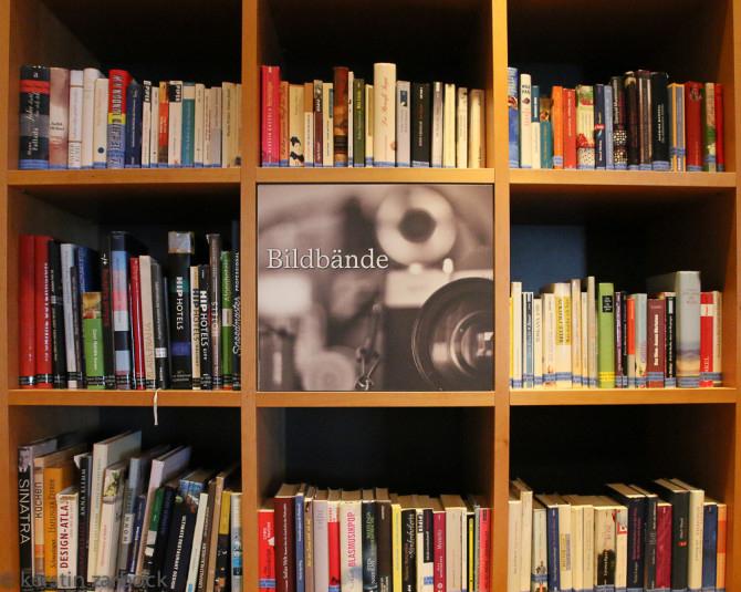 Bibliothek des Bio-Hotel Daberer